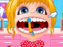 Play free game online Baby barbie braces doctor