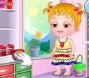 Play free game online Baby hazel craft time. Snow white baby feeding - Play free game online