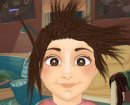Play free game online Crazy hair cuts