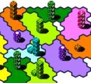 Play free game online Dice wars. Turquoise house - Play free game online