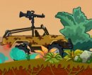 Play free game online Dinosaur hunter. Tow truck - Play free game online