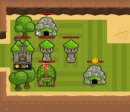 Play free game online Green kingdom. National defense space assault - Play free game online