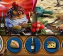 Play free game online Island called paradise. Turquoise house - Play free game online