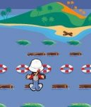 Play free game online Island hop. Freeze lifter - Play free game online