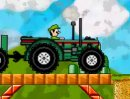 Play free game online Mario tractor. Bugs on a wire - Play free game online
