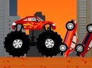 Play free game online Monster truck destroyer