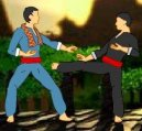 Play free game online Pencak silat. Tank toy battlefield - Play free game online
