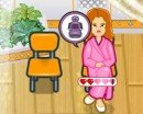 Play free game online Sashas health spa. Angela pregnant check up - Play free game online