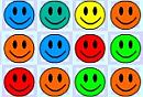 Play free game online Smiley rush. Logical element - Play free game online