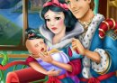 Play free game online Snow white baby feeding