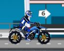 Play free game online Super bike race. Canadian border getaway - Play free game online