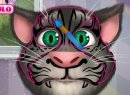 Play free game online Talking tom face tattoo. 5 differents - Play free game online