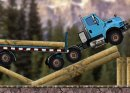 Play free game online Timber trucker. Uphill rush 6 - Play free game online