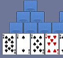 Play free game online Tre peaks solitaire