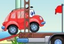 Play free game online Wheely. Litter monkey - Play free game online